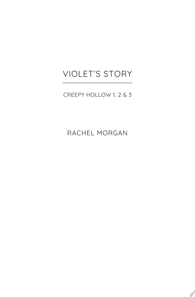 Violet's Story banner backdrop