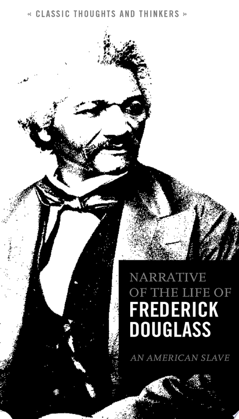 The Narrative of the Life of Frederick Douglass banner backdrop