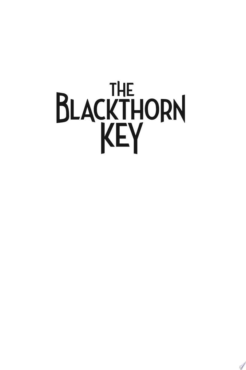 The Blackthorn Key banner backdrop