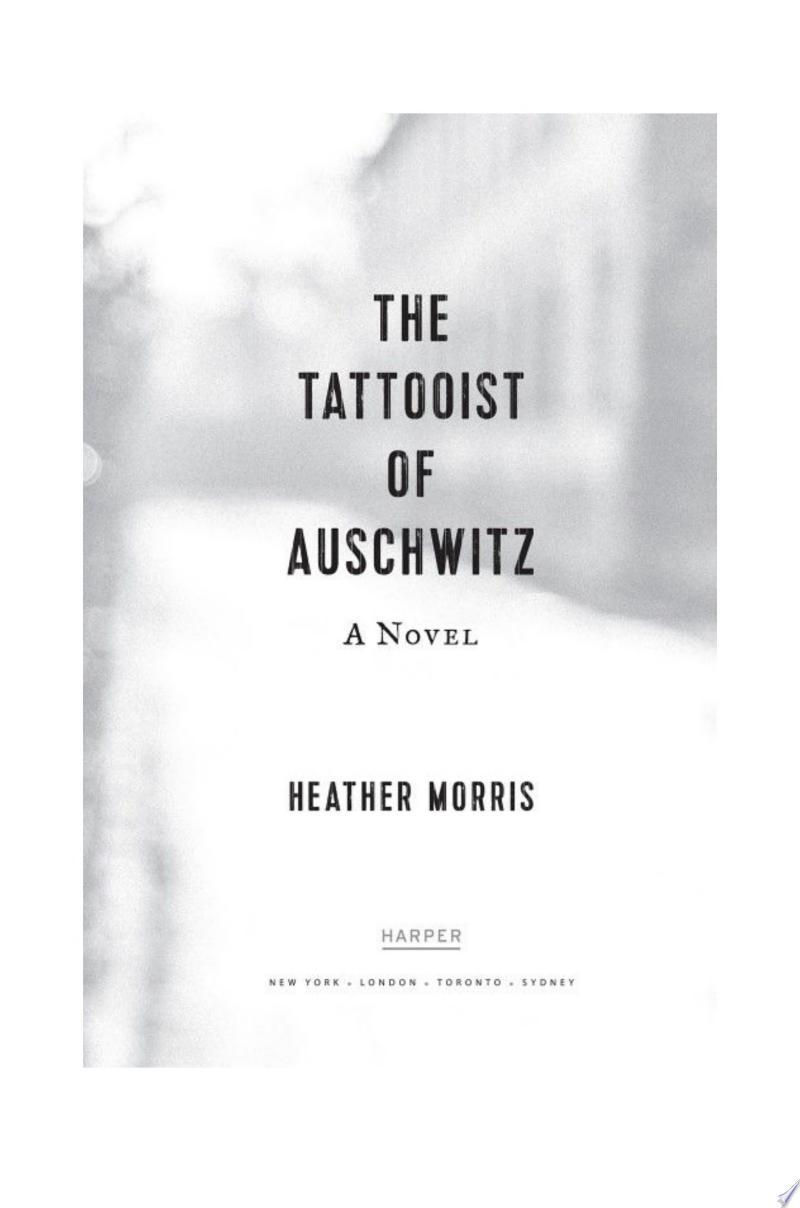 The Tattooist of Auschwitz banner backdrop