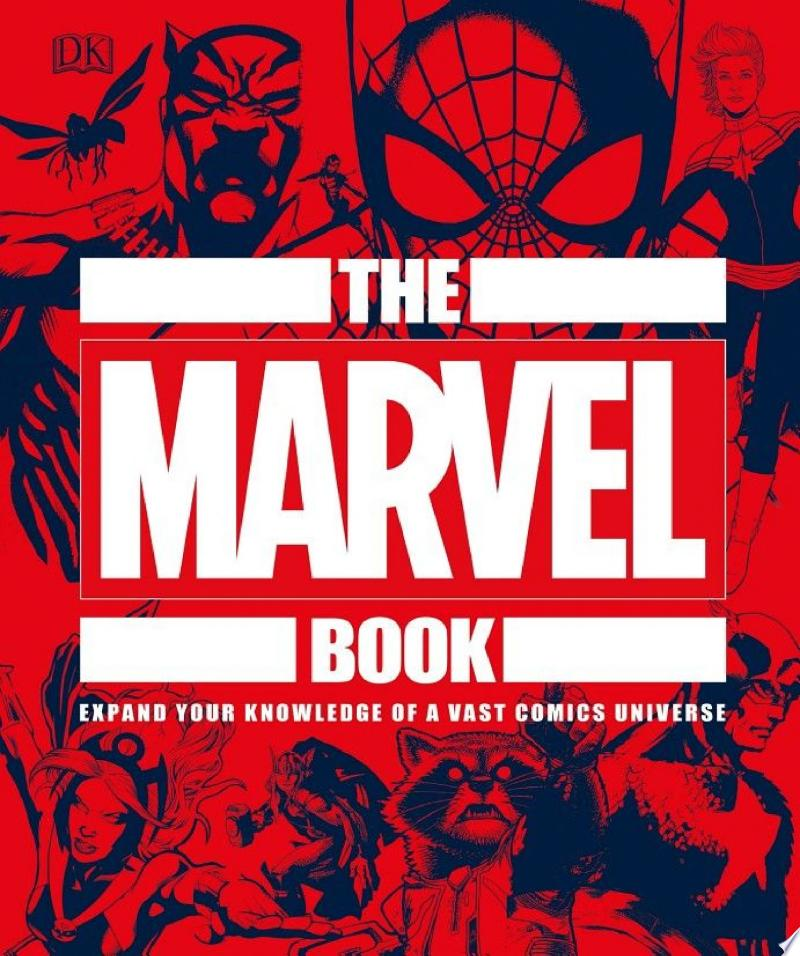 The Marvel Book banner backdrop
