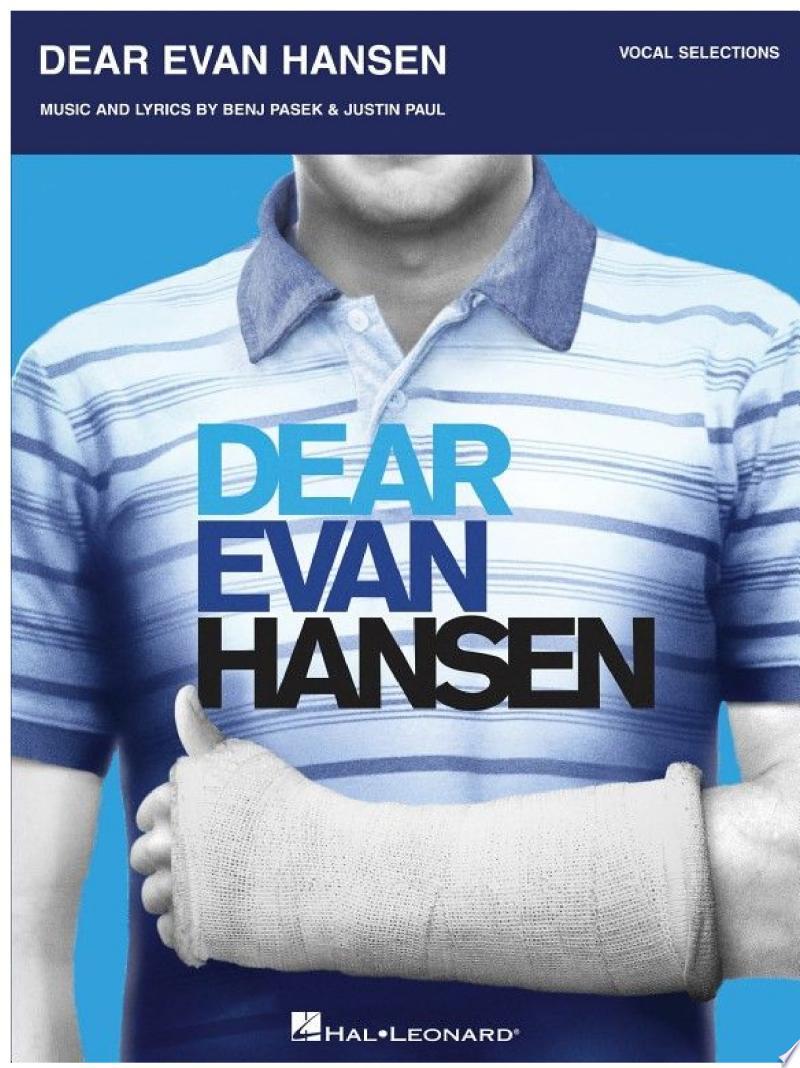 Dear Evan Hansen Songbook banner backdrop