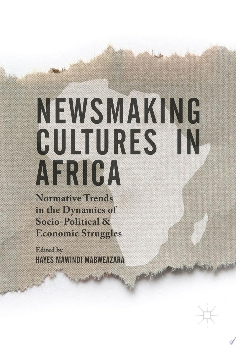 Newsmaking Cultures in Africa banner backdrop
