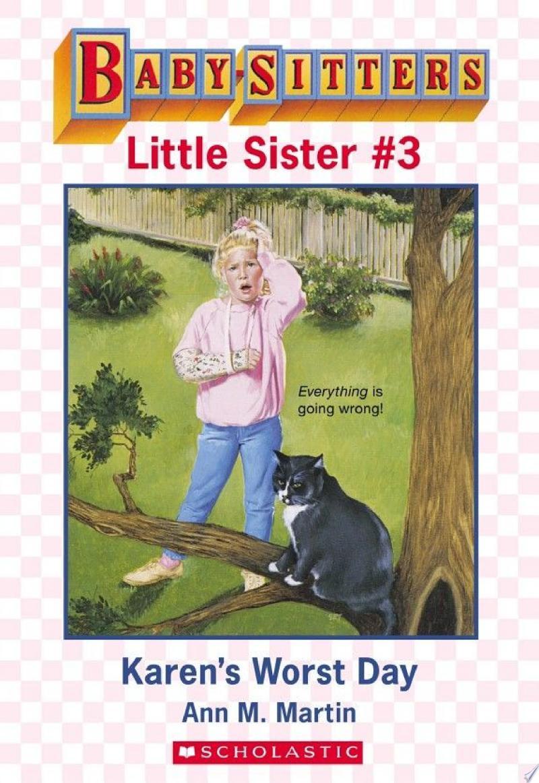 Karen's Worst Day (Baby-Sitters Little Sister #3) banner backdrop