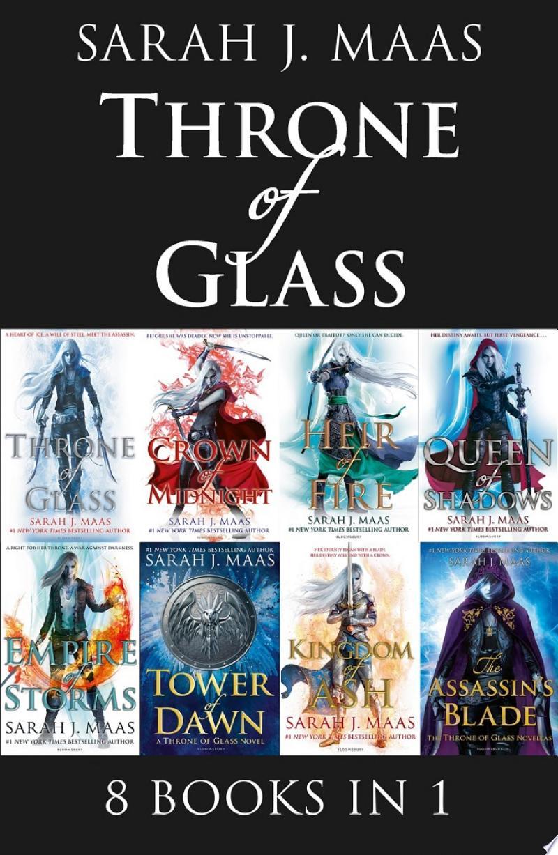Throne of Glass eBook Bundle banner backdrop