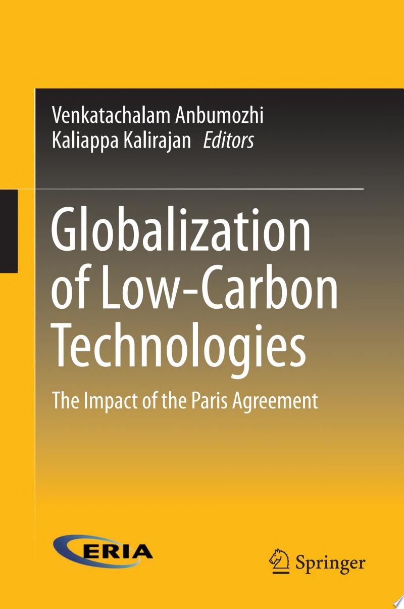 Globalization of Low-Carbon Technologies banner backdrop