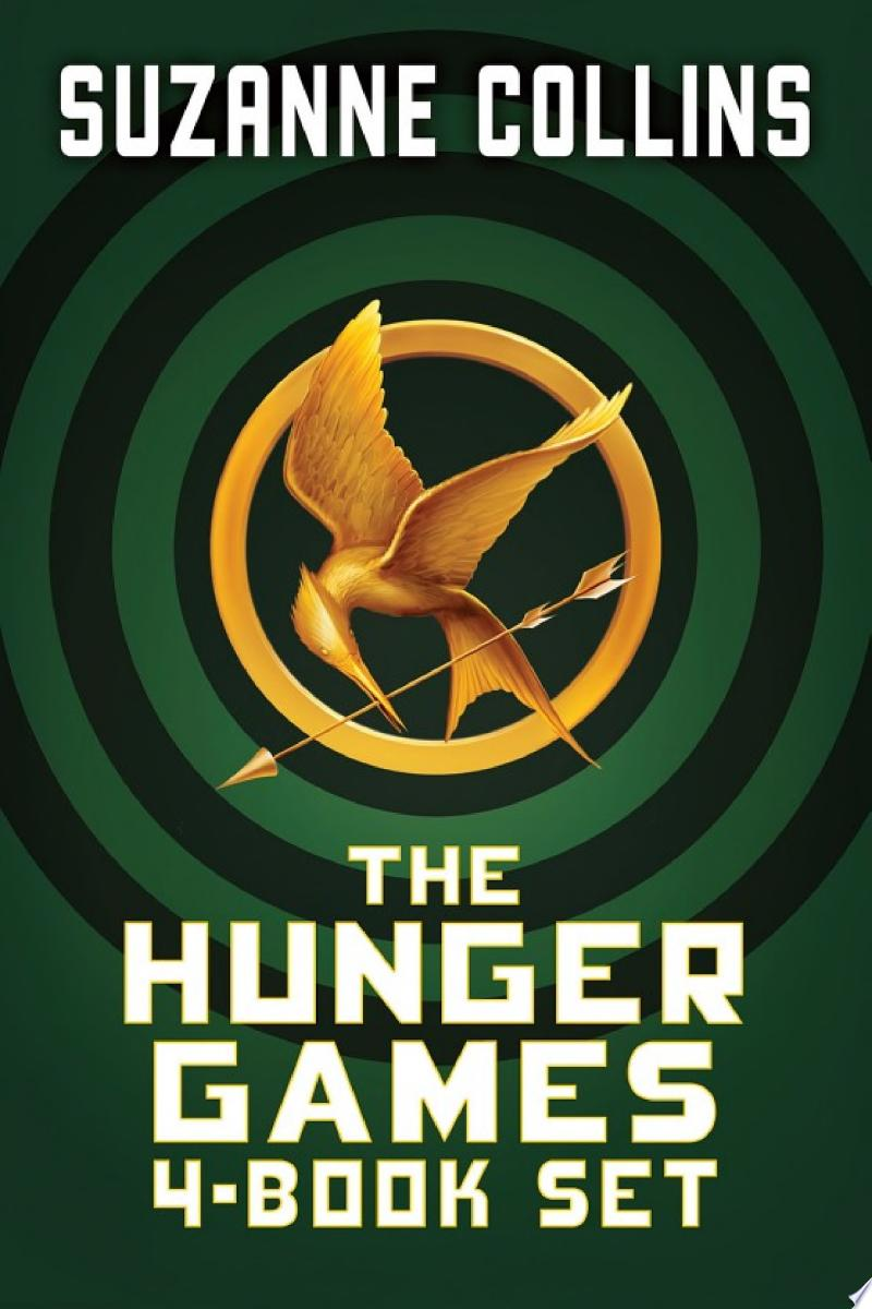 Hunger Games 4-Book Digital Collection (The Hunger Games, Catching Fire, Mockingjay, The Ballad of Songbirds and Snakes) banner backdrop