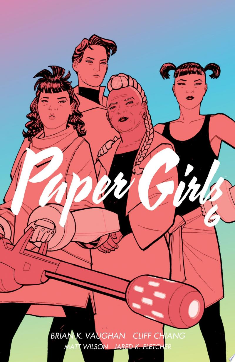 Paper Girls Vol. 6 banner backdrop