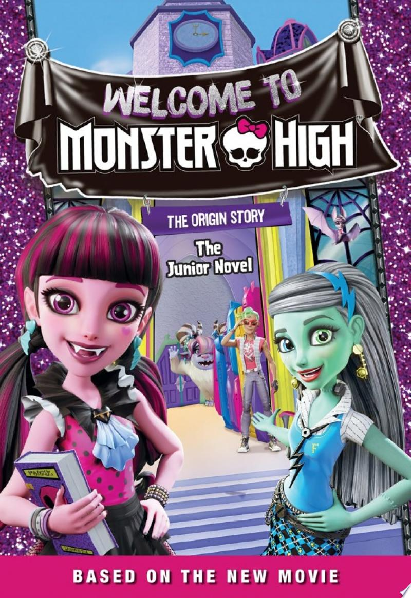 Monster High: Welcome to Monster High: The Junior Novel banner backdrop
