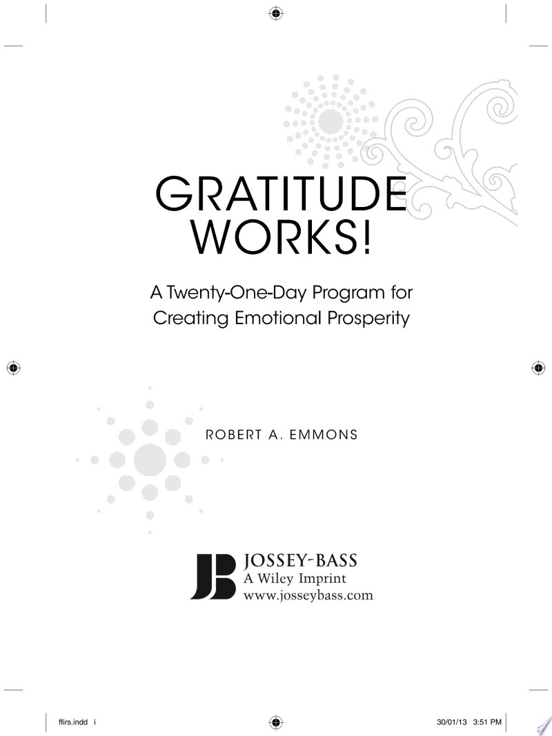Gratitude Works! banner backdrop