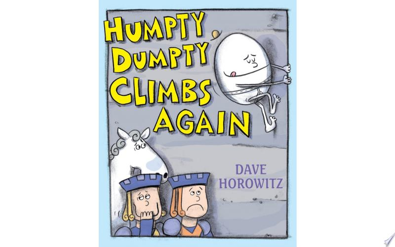 Humpty Dumpty Climbs Again banner backdrop