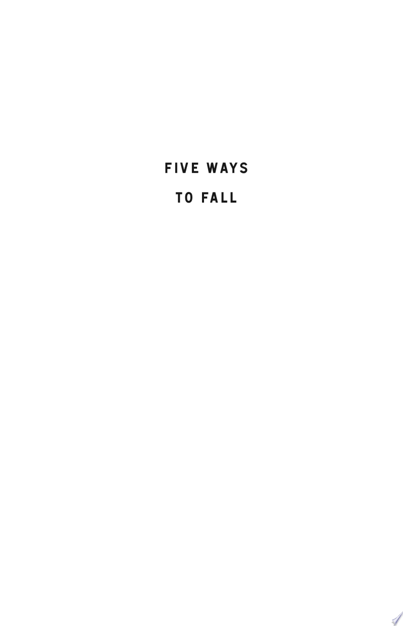 Five Ways to Fall banner backdrop