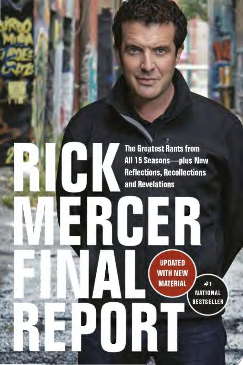 Rick Mercer Final Report banner backdrop
