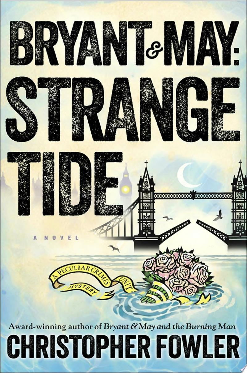 Bryant & May: Strange Tide banner backdrop