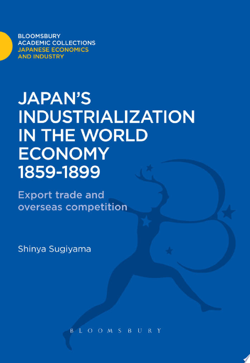 Japan's Industrialization in the World Economy:1859-1899 banner backdrop