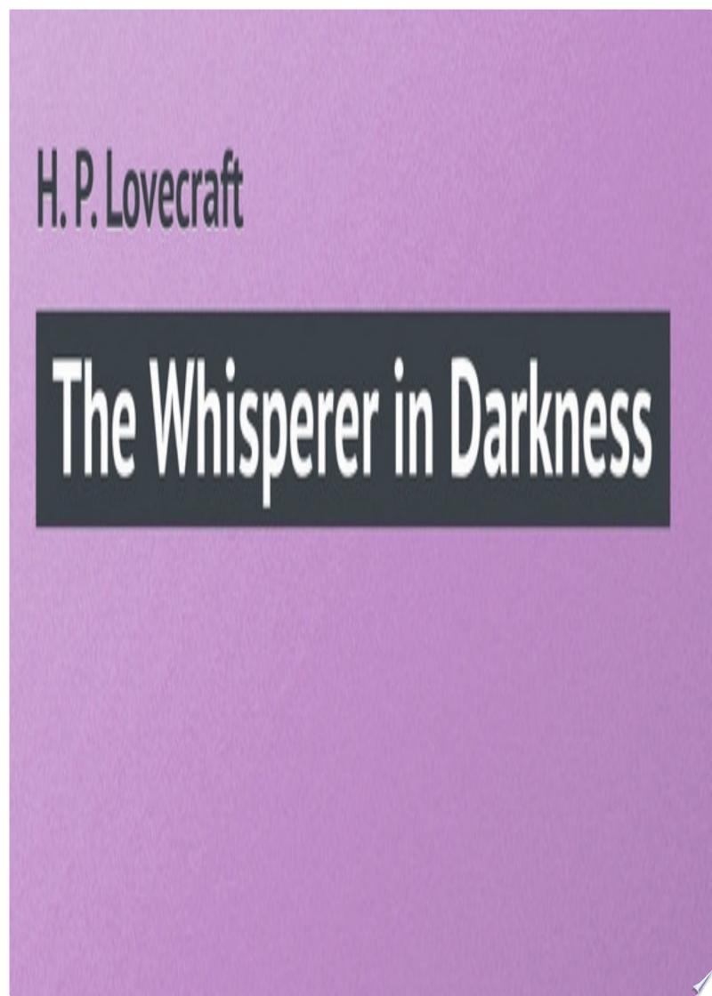 The Whisperer in Darkness banner backdrop