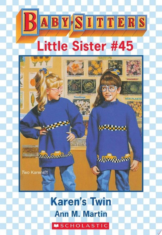 Karen's Twin (Baby-Sitters Little Sister #45) banner backdrop