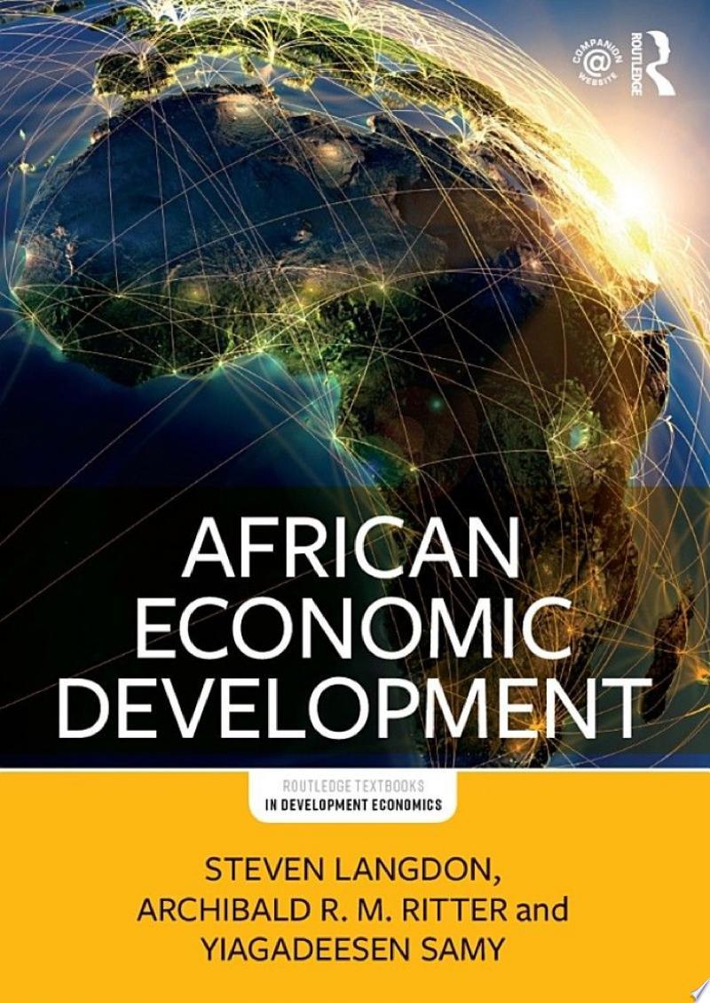 African Economic Development banner backdrop