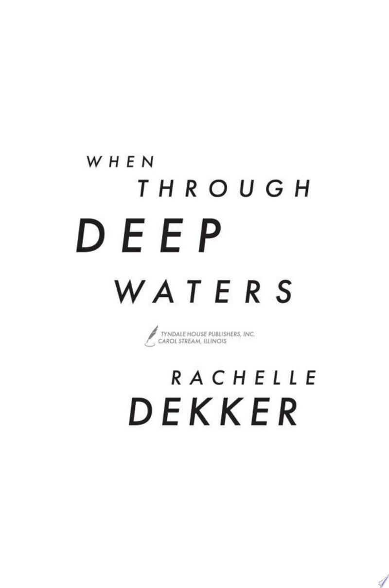 When Through Deep Waters banner backdrop