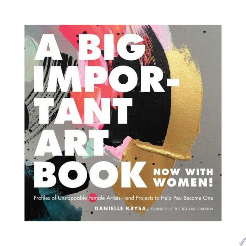 A Big Important Art Book (Now with Women) banner backdrop