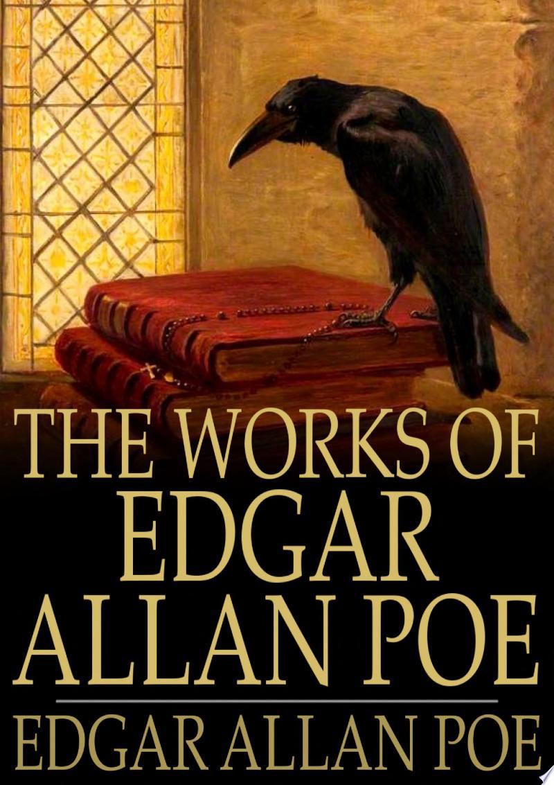 The Works of Edgar Allan Poe banner backdrop