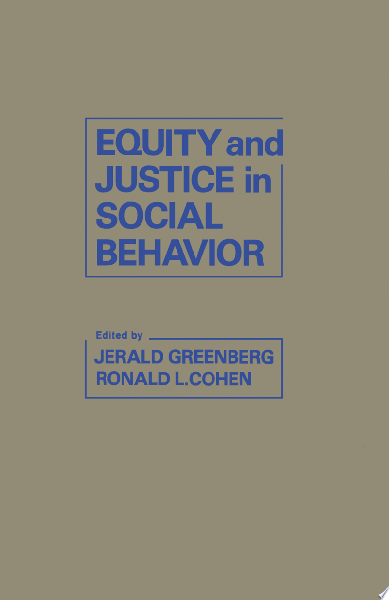 Equity and Justice in Social Behavior banner backdrop