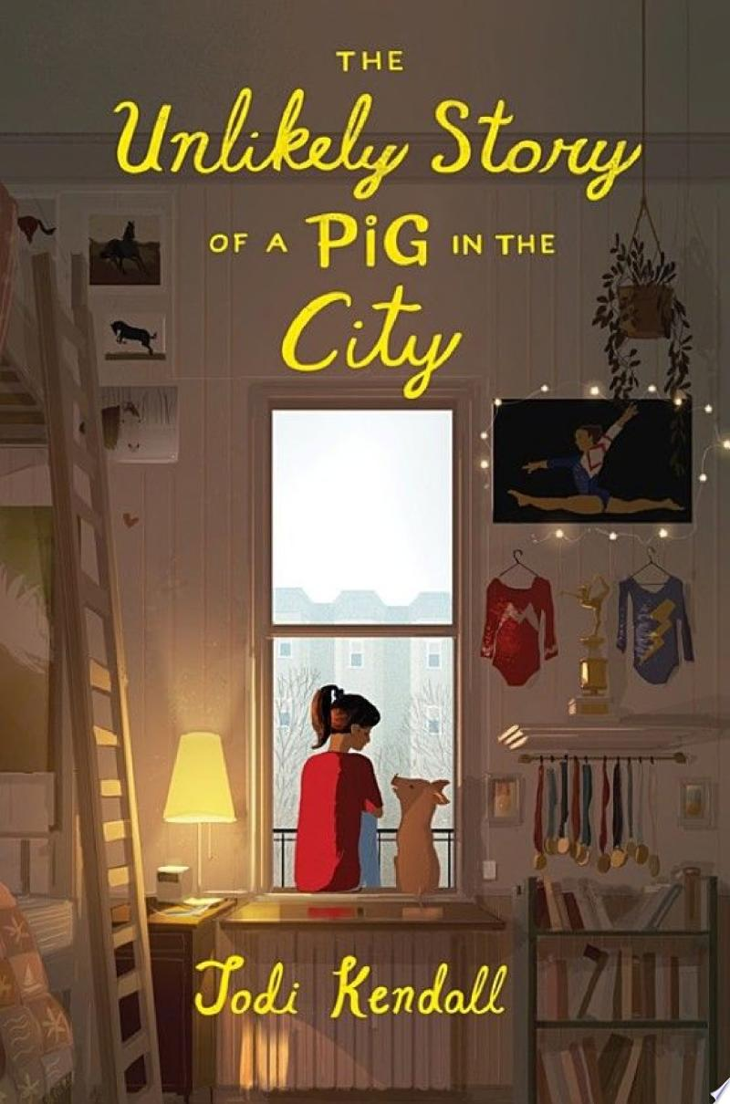 The Unlikely Story of a Pig in the City banner backdrop