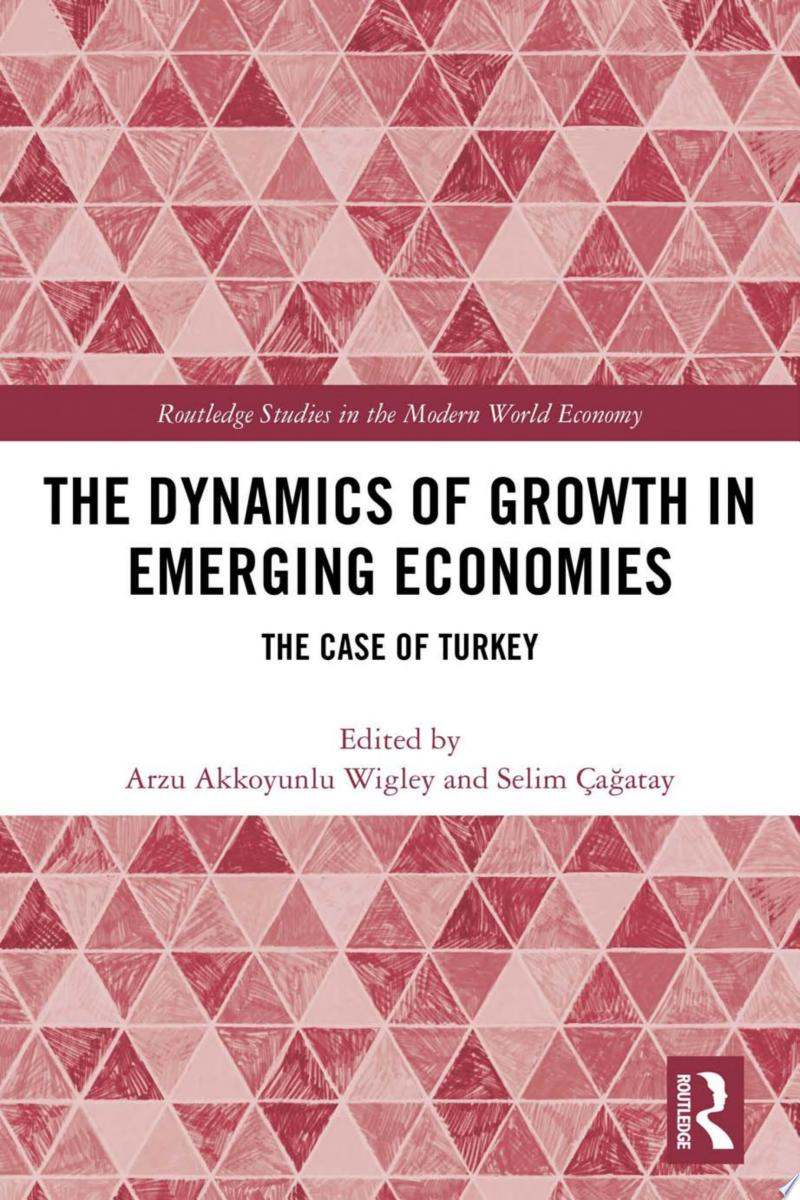 The Dynamics of Growth in Emerging Economies banner backdrop