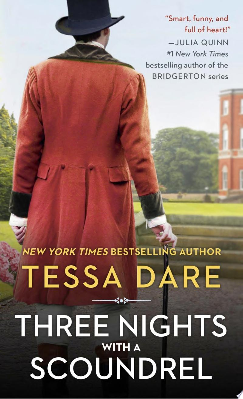 Three Nights with a Scoundrel banner backdrop