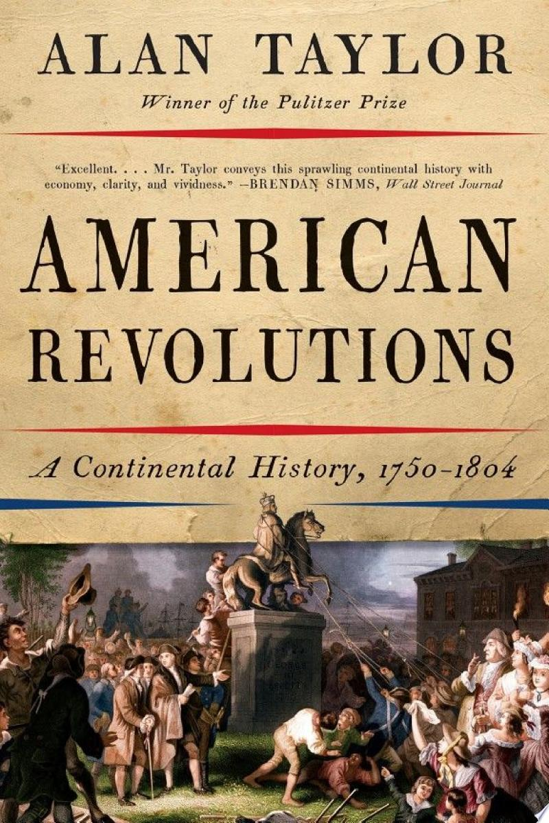 American Revolutions: A Continental History, 1750-1804 banner backdrop