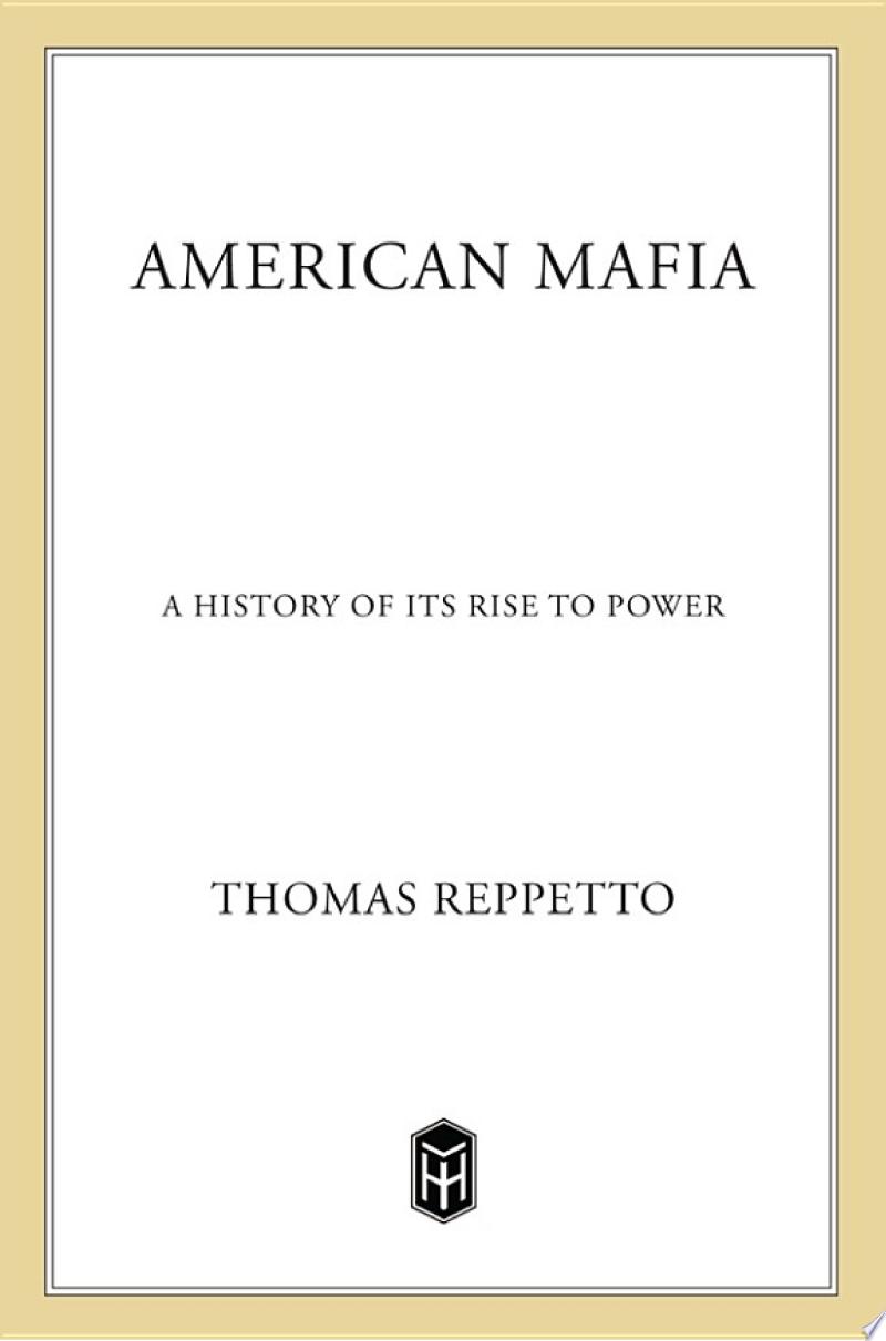 American Mafia banner backdrop