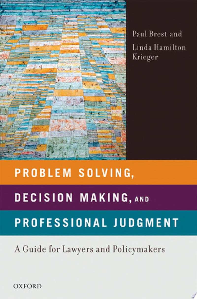 Problem Solving, Decision Making, and Professional Judgment banner backdrop