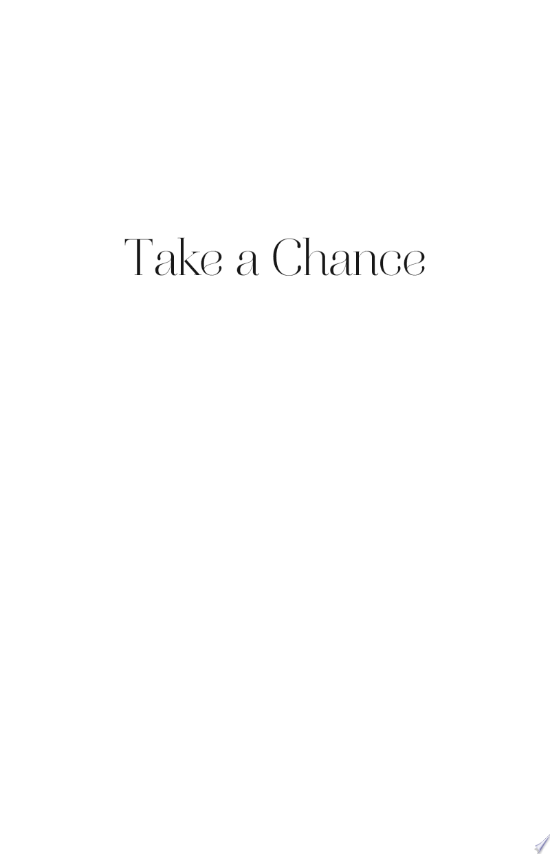 Take a Chance banner backdrop