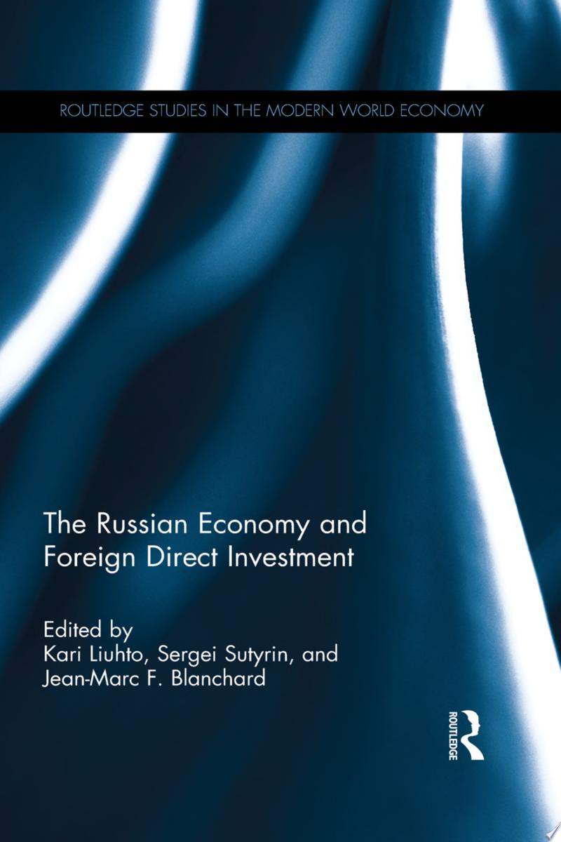 The Russian Economy and Foreign Direct Investment banner backdrop