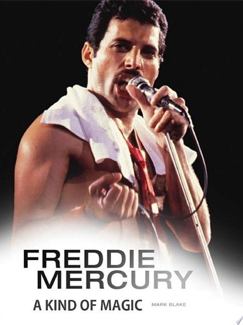 Freddie Mercury: A Kind of Magic banner backdrop