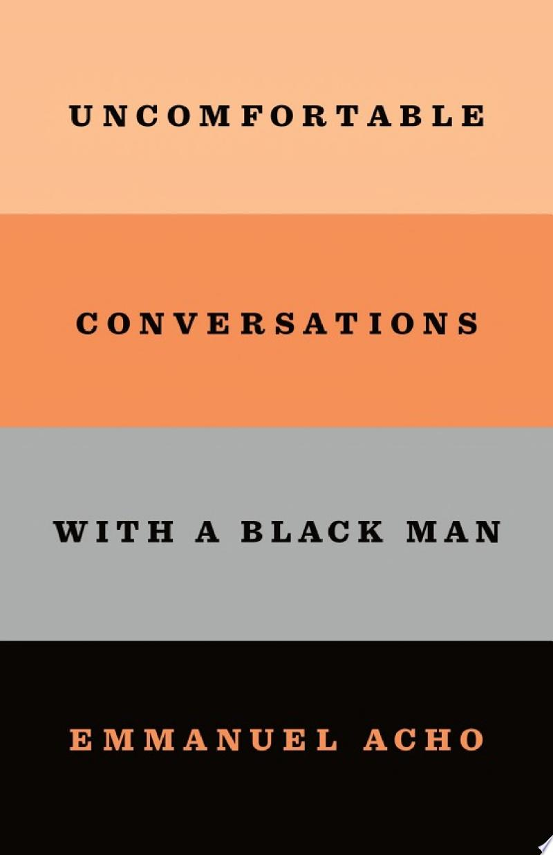 Uncomfortable Conversations with a Black Man banner backdrop