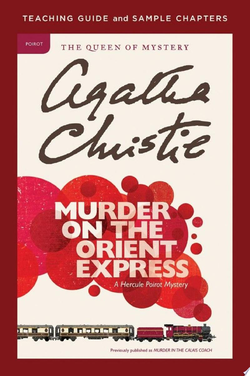 Murder on the Orient Express Teaching Guide banner backdrop