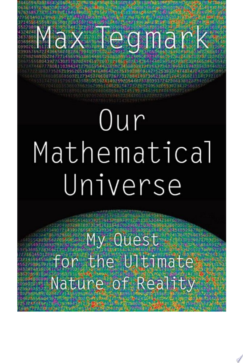 Our Mathematical Universe banner backdrop