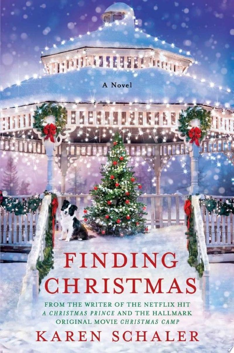Finding Christmas banner backdrop