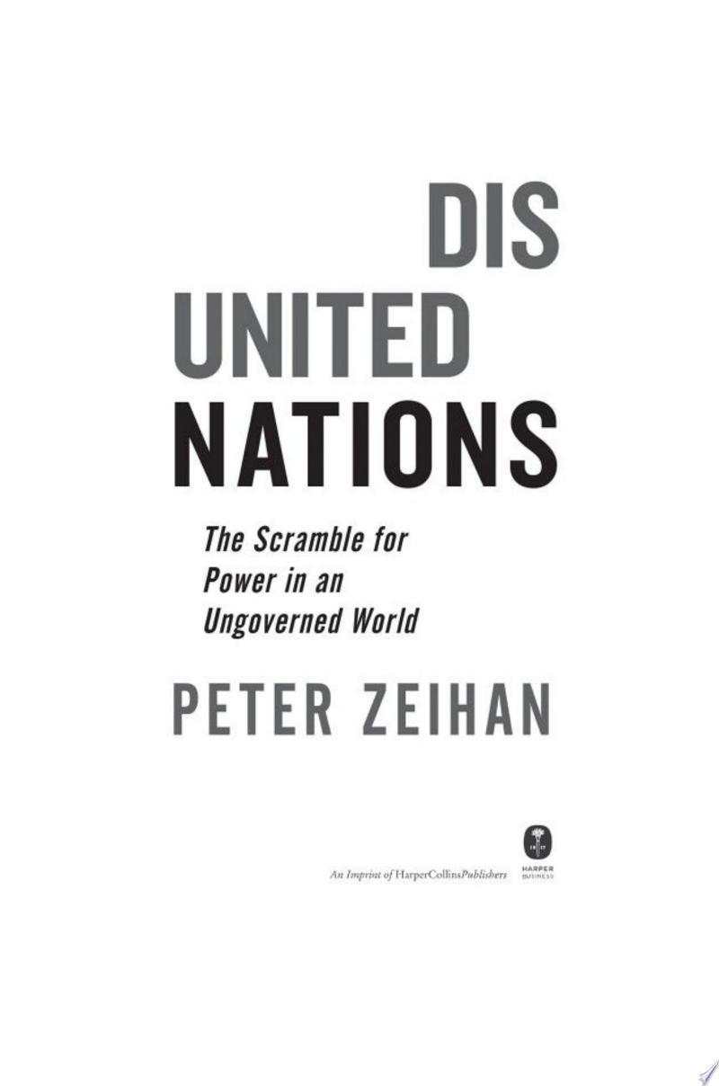 Disunited Nations banner backdrop