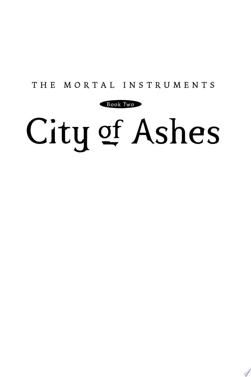 City of Ashes banner backdrop