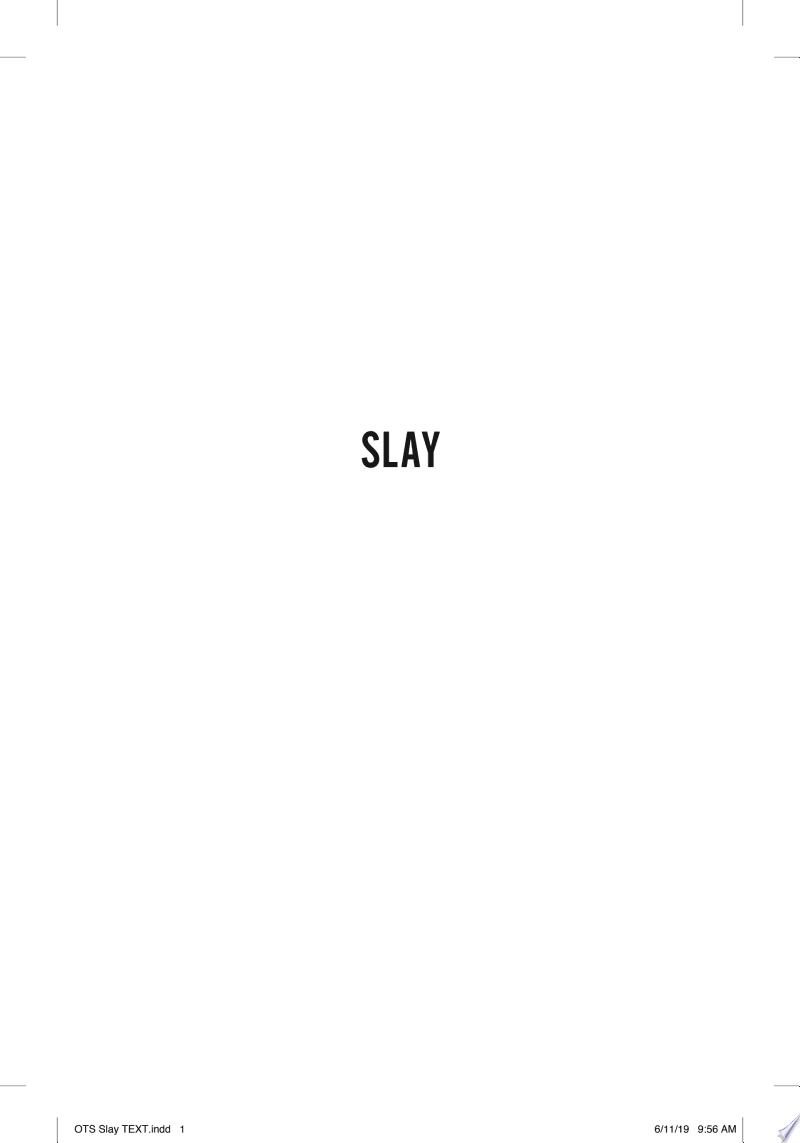 SLAY banner backdrop