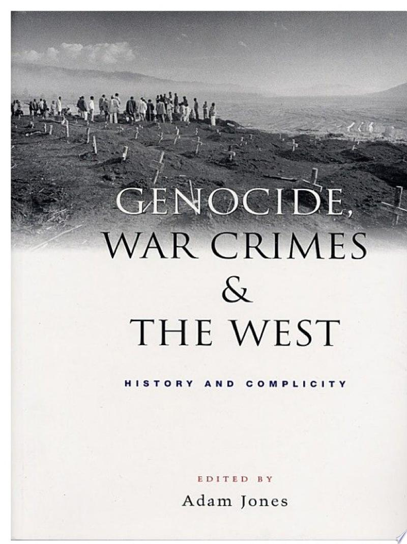Genocide, War Crimes and the West banner backdrop