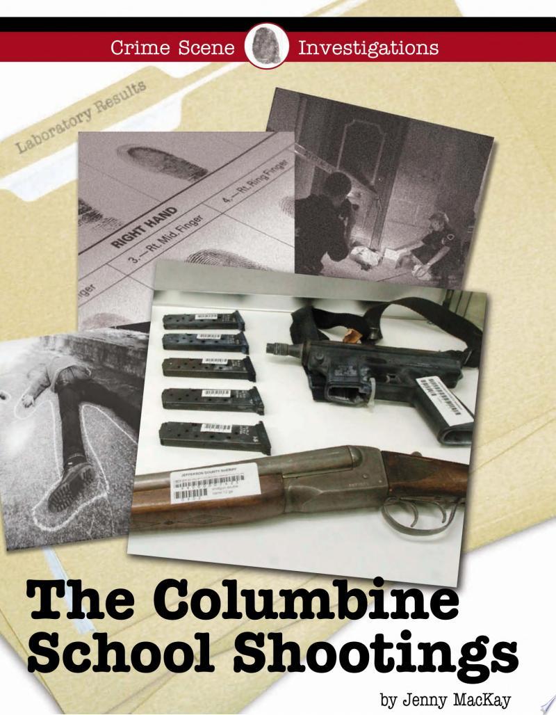 The Columbine School Shootings banner backdrop