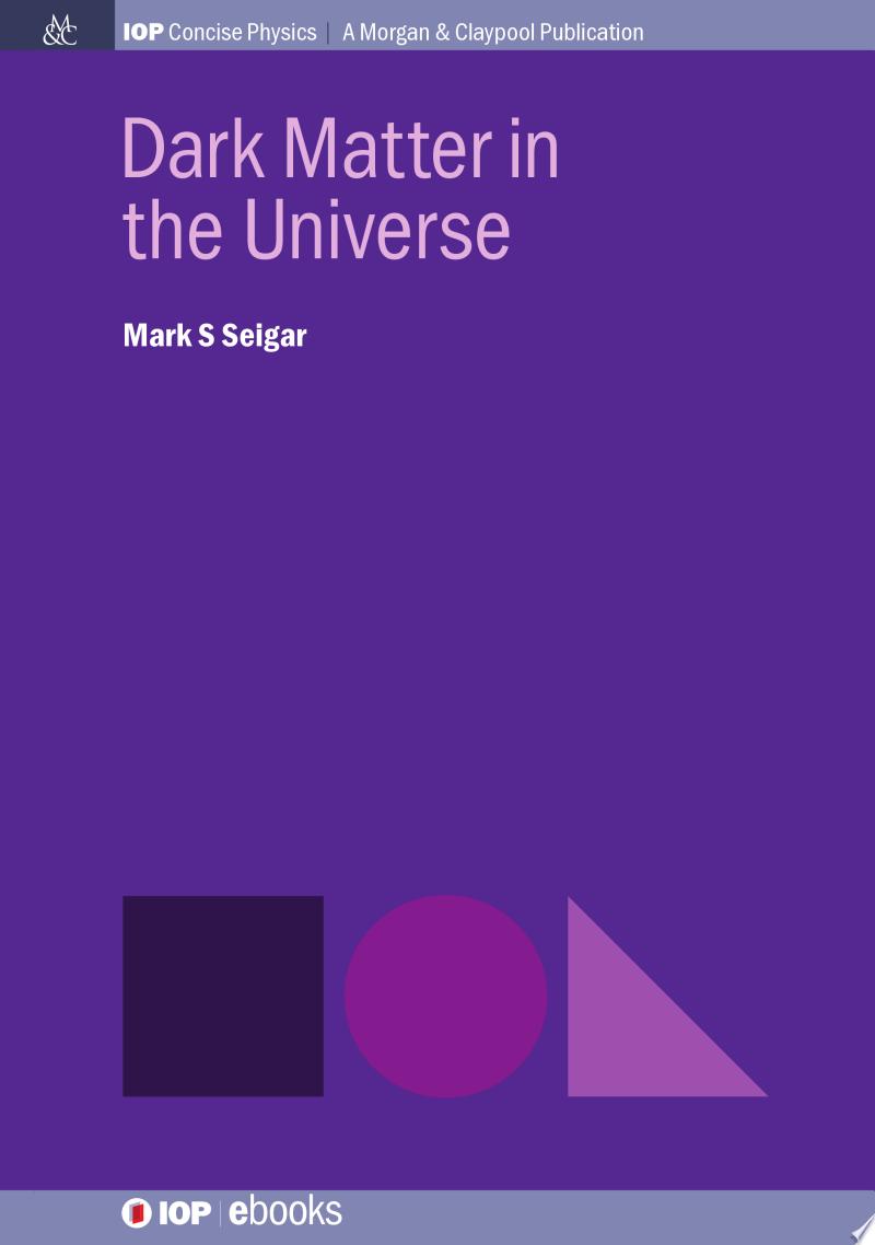 Dark Matter in the Universe banner backdrop