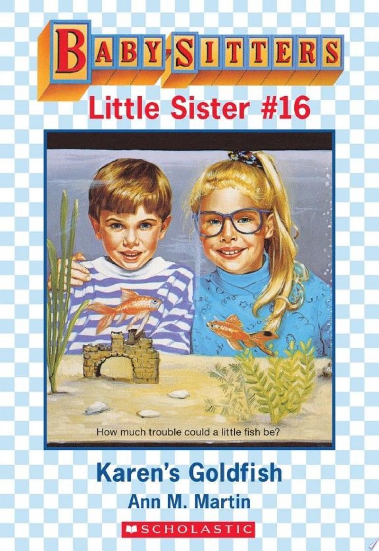 Karen's Goldfish (Baby-Sitters Little Sister #16) banner backdrop