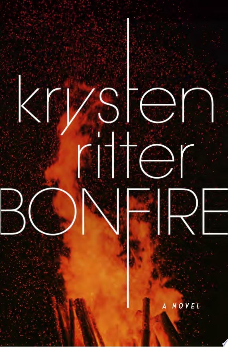 Bonfire banner backdrop