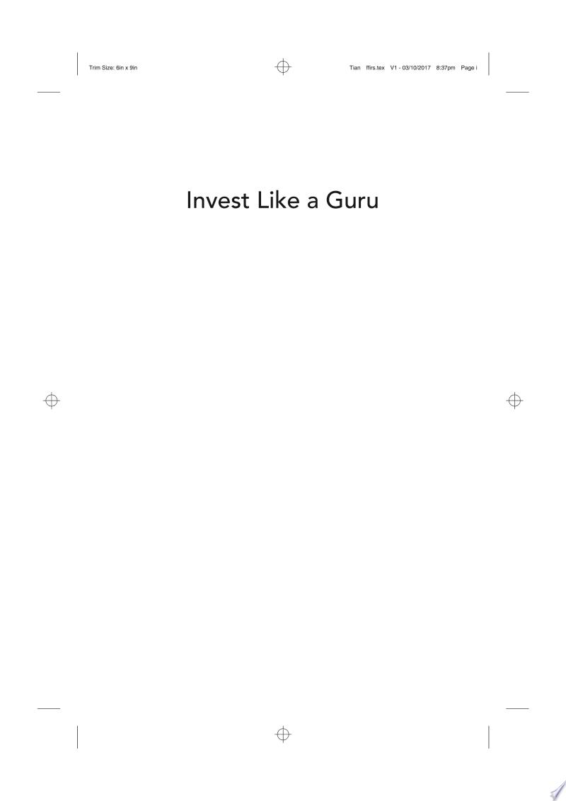 Invest Like a Guru banner backdrop