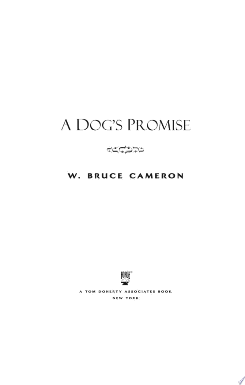 A Dog's Promise banner backdrop