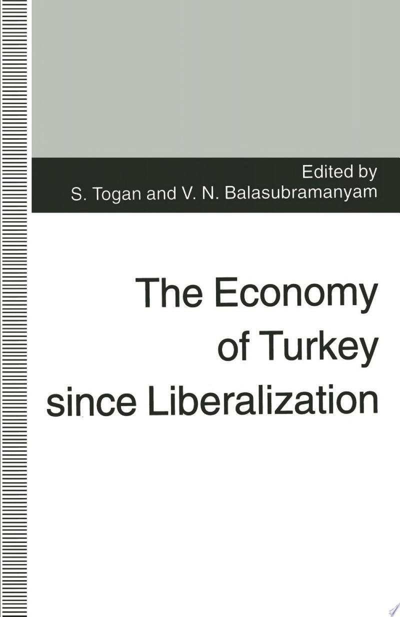 The Economy of Turkey since Liberalization banner backdrop